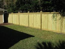 Types Of Wood Fences For Backyard Wood Fence Wood Privacy Fence Privacy Fence Designs