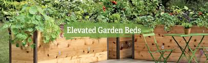elevated raised garden beds free