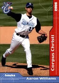 2006 Corpus Christi Hooks Grandstand #16 Aaron Williams - NM