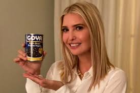 Ivanka Trump's Goya promo unleashes a can of jokes — and ...