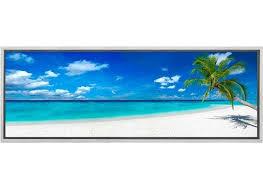 tropical beach 2 canvas wall art
