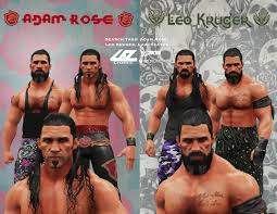 What if Adam Rose came back to WWE? Find out with 2014 classic Adam Rose,  2018 jacked Rose, and a new custom 2020 Leo Kruger gimmick. Don't be a  lemon, download both