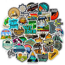 Explore Decal Travel Adventure Outdoors Car Window Laptop Sticker Hiking