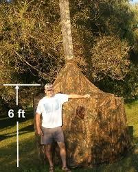 free deer hunting chimney blind plans