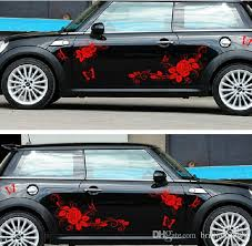 2020 085 Dielianhua Butterfly Rose Car Sticker Lahua Decoration Car Sticker Modified Car Decal From Brilliant9999 23 21 Dhgate Com