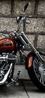 harley davidson motorcycle side view