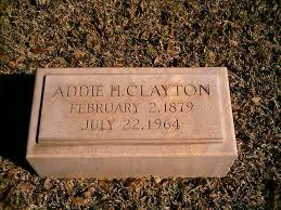 Addie Henderson Clayton :: Crockett County Historical Commission