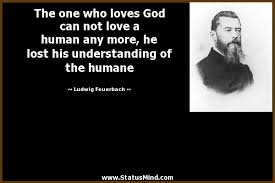 the one who loves god can not love a human any com