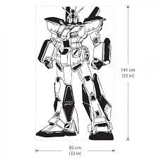 Alex Gundam G 4 Roboter Vinyl Wall Art Decal
