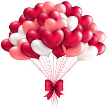 Beautiful Heart Balloons PNG Clipart Image | Gallery Yopriceville ...