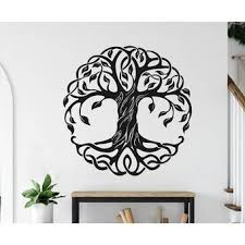 Ebern Designs Tree Of Life Vinyl Wall Decal Wayfair