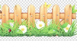 Grass Plant Flower Wildflower Fence Clipart Grass Plant Flower Transparent Clip Art