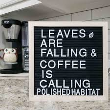 fall letter board quotes sayings polished habitat