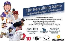 Slammers Recruiting Coordinater's John... - Slammers Baseball | Facebook