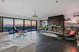the ultra modern home with panoramic