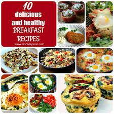 delicious healthy breakfast recipes