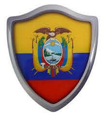 Ecuador Flag Shield Domed Decal 3d Look Edge Emblem Resin Car Sticker 2 6 X3 Ebay