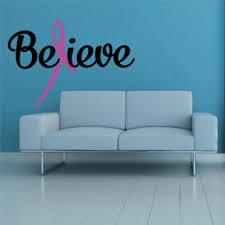 Wall Laptop Car Breast Cancer Survivior Letter Cross Vinyl Decal Sticker