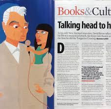 interview my legend friend David Byrne ...