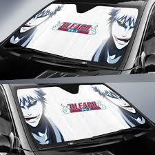 Zangetsu Bleach Anime Sunshade Auto Car Sun Shade Windshield Window