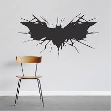 Bat Wall Decal Large Boys Bedroom Wall Designs Hero Room Stickers Boys Room Wallpaper Art Trendy Wall Designs