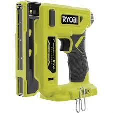 Ryobi 18v One Cordless Stapler Skin Only Bunnings Warehouse