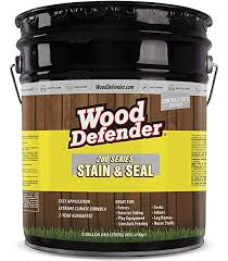 Wood Defender Transparent Fence Stain Oxford Brown 5 Gallon Amazon Com