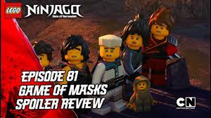 Ninjago Sons of Garmadon: Episode 81 Game of Masks Spoiler Review ...