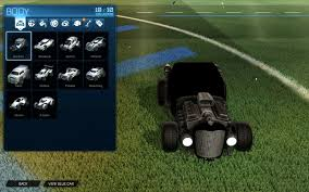 Black Decal For All Cars Rocket League Mods