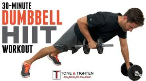 30 minute dumbbell hiit workout