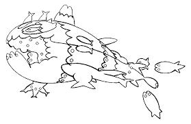 Kleurplaat Pokemon Sun En Moon Wishiwashi School Vorm 35