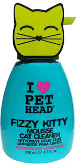pet head fizzy kitty cat mousse cleaner