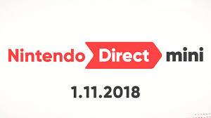 Nintendo Direct Mini - 1.11.2018 - GameSpot