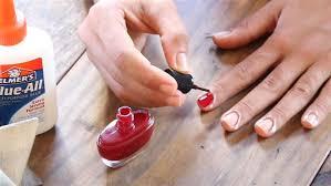 this elmer s glue manicure trick will