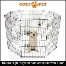 Cozy Pet Playpen Dog Rabbit Puppy Play Pen Cage Folding Run Fence Crate Pp04 Ebay