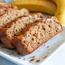 oat flour banana bread my sugar free