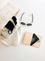 wallet handmade passport wallet