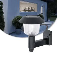 Bright Led Solar Powered Fence Gate Wall Lamp Post Light Outdoor Garden Yard Df Lazada Ph