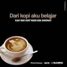 dari kopi aku belajar kutipan kopi kopi dan karya seni kopi