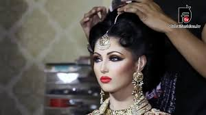 bridal makeup and hairstyles tutorial