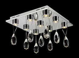 droplet led flush mount ceiling light
