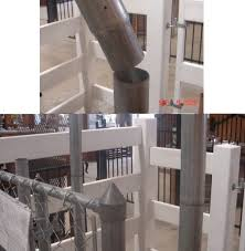 Swedge Extension Display Privacy Fence Chain Link Fence Design