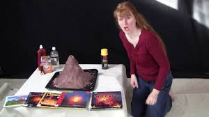 make your own volcano you