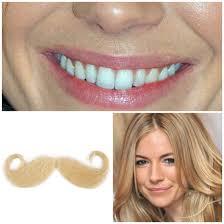 the foundation moustache hair