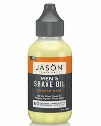 Jason Men's Coarse Hair Shave Oil 59ml for sale online | eBay