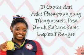 quotes dari atlet perempuan yang menginspirasi kita untuk