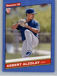 Amazon.com: 2020 Donruss #258 Adbert Alzolay Chicago Cubs Baseball MLB:  Collectibles & Fine Art