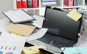 Image result for clear desk clutter