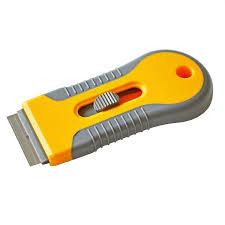 Car Plastic Sticker Remover Edge Blade Razor Scraper Window Tint Spatula Tools Sale Banggood Com