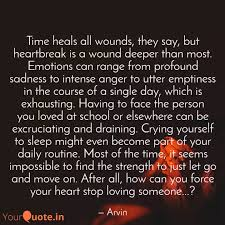 time heals all wounds quotes writings by arvind pandey